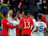 Messi ve la segunda tarjeta roja de su carrera