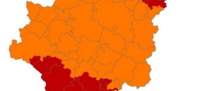 Alerta de riesgo de incendios este domingo en Aragón.