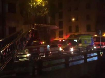 Incendio en Chamberí