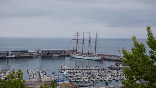 Barco Juan Sebastián Elcano