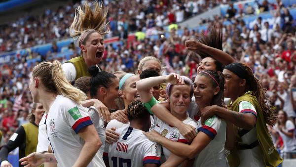 Estados Unidos, campeona del mundo en Francia 2019