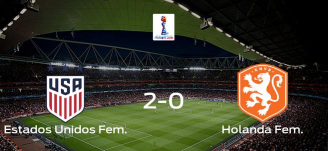 Estados Unidos se convierte en campeona del Mundo tras derrotar 2-0 a Holanda