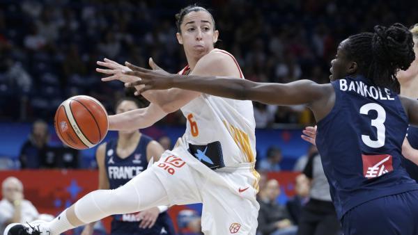 España en la final del Eurobasket contra Francia