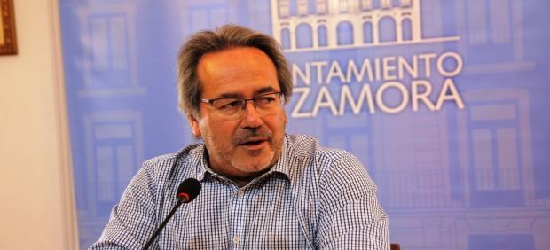 Francisco Guarido, alcalde de Zamora.