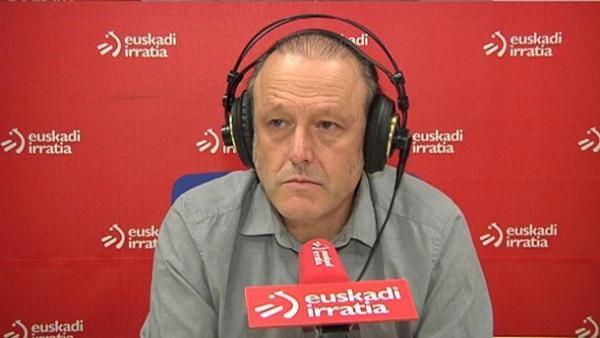 Roberto Uriarte, en una entrevista a Euskadi Irratia.