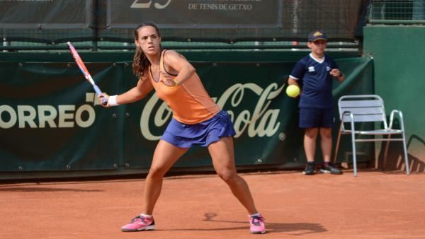 La tenista Olga Sáez (archivo)