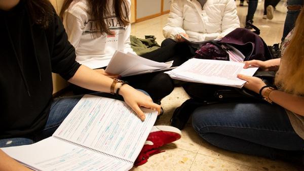 Estudiantes de la Universidad de Cantabria