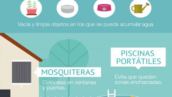 Imagen de la campaña divulgativa para frenar la expansión del mosquito tigre.