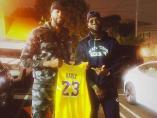 LeBron James entrega su 23 a Anthony Davis