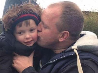 Ollie Jones y su padre Lloyd