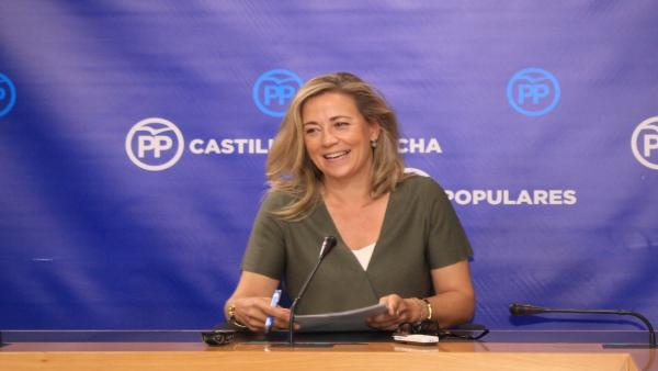 La portavoz del Grupo Parlamentario Popular, Lola Merino