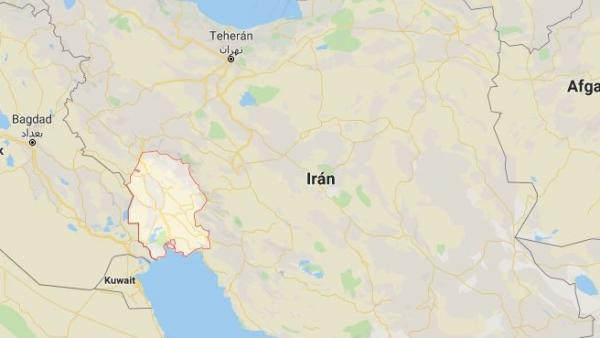 Provincia de Juzestán, al sudeste de Irán.