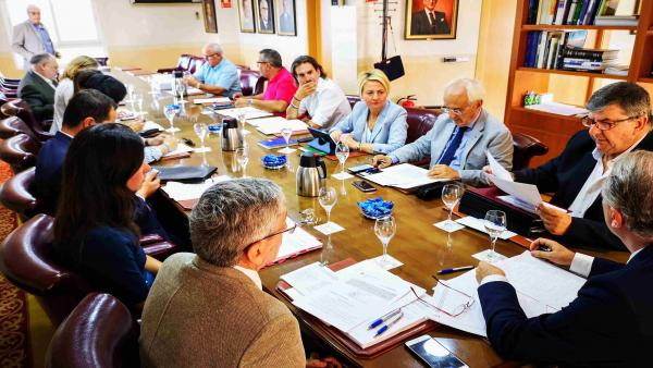 Reunión del consejo de administración de la Autoridad Portuaria de Almería