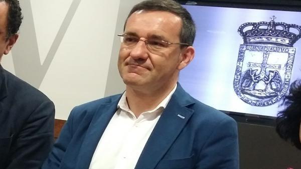 Javier Cuesta, concejal de Economía de Oviedo.