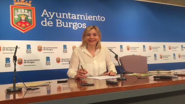 La concejal de Servicios Sociales de Burgos, Sonia Rodríguez.