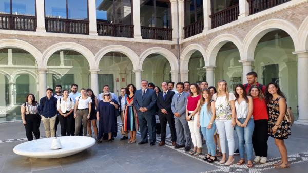 Estudiantes de Derecho completarán su formación con prácticas en la Junta