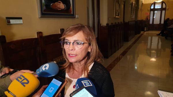 Ángela Vallina, diputada de IU