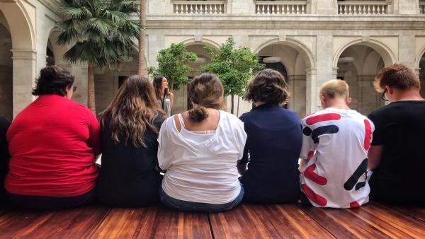 El Museo de Málaga acoge un 'escape room' y una búsqueda del tesoro para pacientes de pediatría con problemas de salud mental del  Materno Infantil