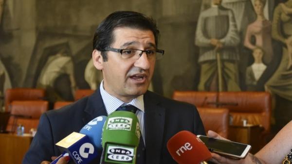 El presidente de la Diputación de Ciudad Real, y secretario general del PSOE en la provincia, José Manuel Caballero