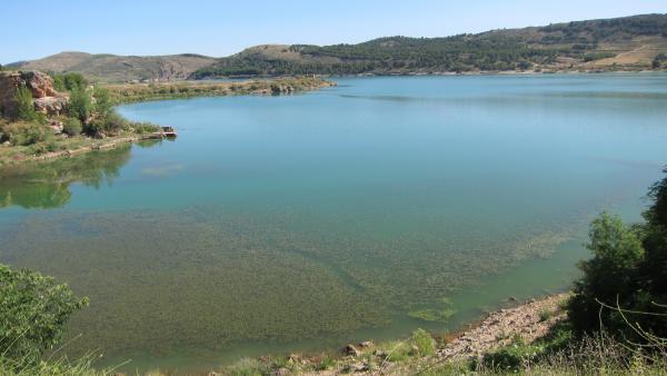 Pantano de la Cuenca del Ebro.