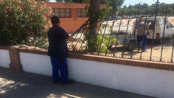 Actos vandálicos en el recinto ferial