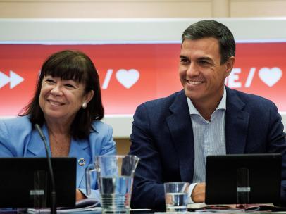 Sánchez, en la Ejecutiva del PSOE