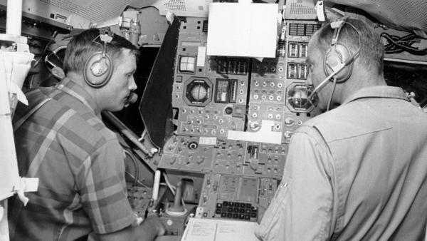 Armstrong y Aldrin