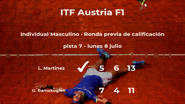 Louroi Martinez pasa de ronda del torneo de Telfs