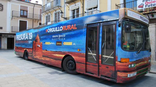 El Autobús de la Repoblación de Presura viaja esta semana a las localidades zaragozanas de Ateca, Urriés y Artieda.