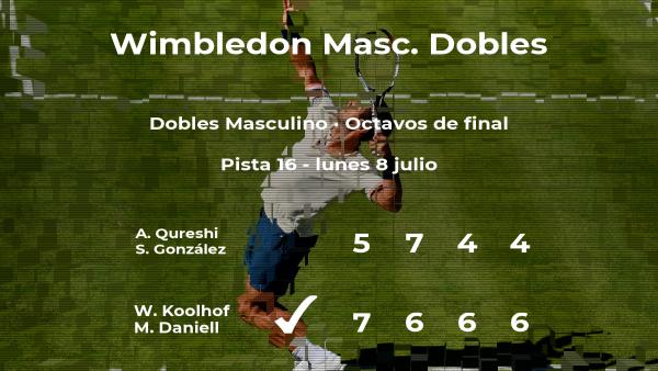 Koolhof y Daniell se imponen en los octavos de final de Wimbledon