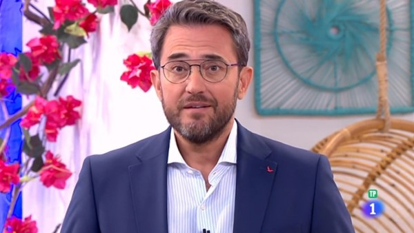 Màximo Huerta en su nuevo programa 'A partir de hoy' en La 1