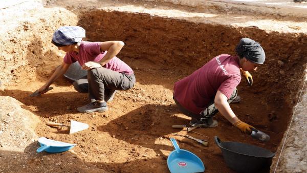 Exhumación de restos de dos víctimas de la retaguardia republicana