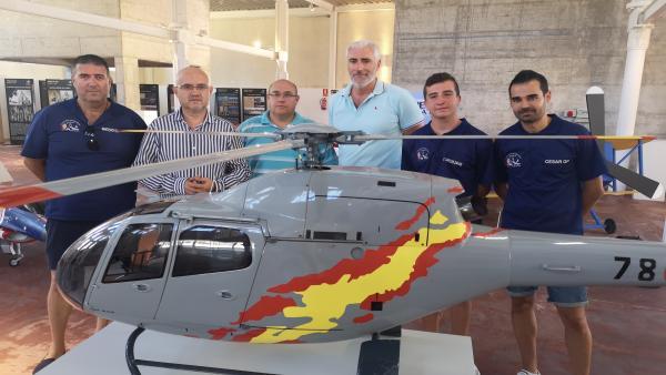 Presentación de la cuarta edición del Festival Aéreo de Torre del Mar contará por primera vez con el Harrier de la Armada