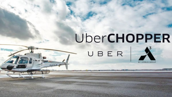 Uber se pasa a los helicópteros en Manhattan.