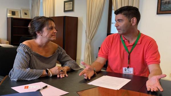 El portavoz del PP en el Ayuntamiento de Huelva, Manuela Cayuela.