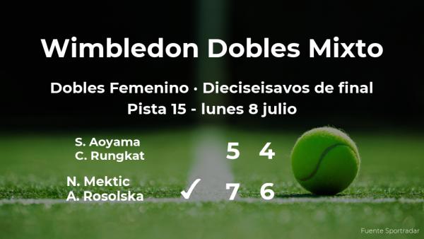 Los tenistas Mektic y Rosolska se imponen en los dieciseisavos de final de Wimbledon