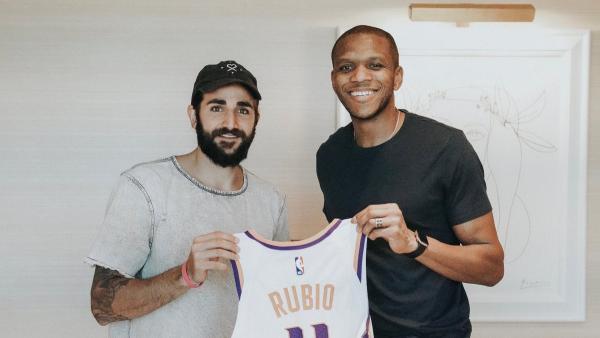 Ricky Rubio firma por los Phoenix Suns