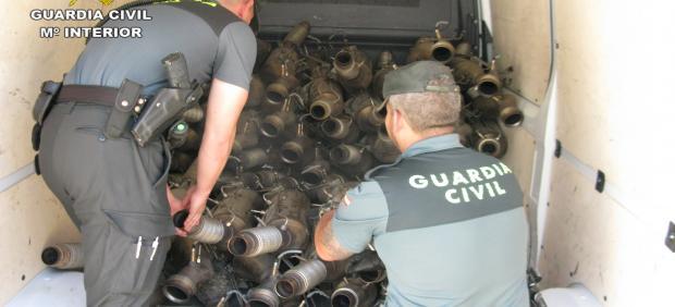 La Guardia Civil detiene a una persona por robo en una empresa de Azuqueca de Henares