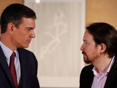Pedro Sánchez y Pablo Iglesias