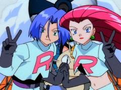 James y Jessie, miembros del Team Rocket en el anime de 'Pokémon'