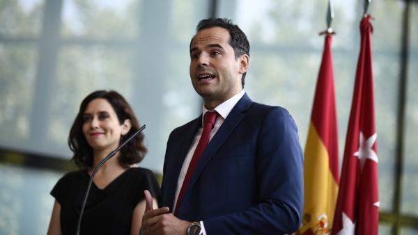 Díaz Ayuso y Aguado