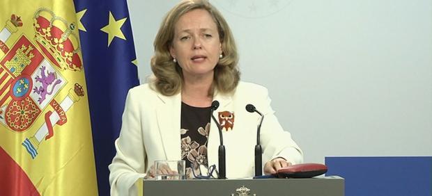 La ministra Calviño reconoce que ha tratado con Sánchez su posible candidatura al FMI