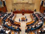 La Asamblea de Madrid celebró esta semana un pleno de investidura sin candidata.