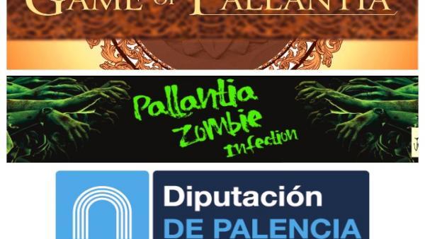 Carteles de los dos juegos programados por Diputación de Palencia.