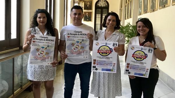 El Ayuntamiento De Málaga Informa: Campaña De Recogida De Medicamentos Para La Población Venezolana