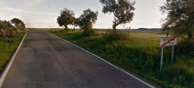Carretera A-389 Paterna-Medina Sidonia.