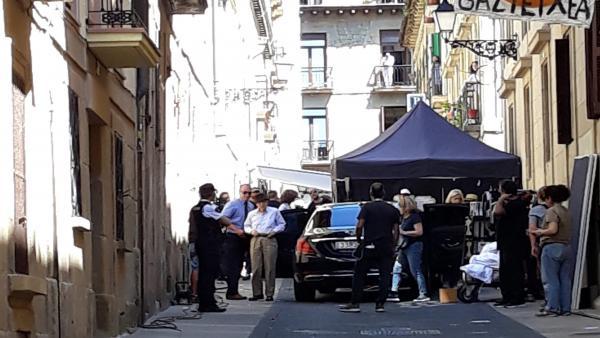 Rodaje de la nueva película de Woody Allen en San Sebastián
