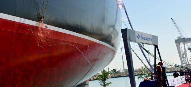 Entrega del cuarto petrolero Suezmax construido en Navantia Puerto Real