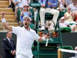 Roberto Bautista en Wimbledon