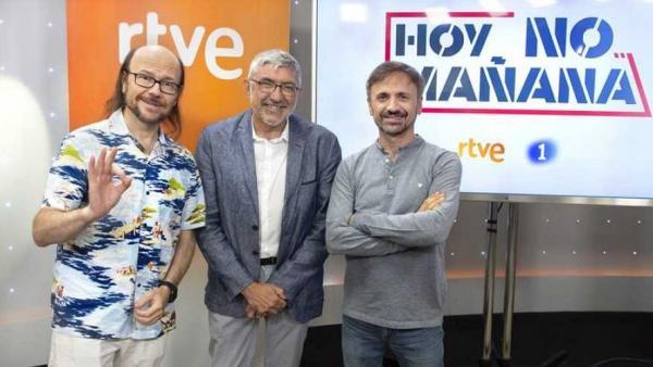 Santiago Segura y José Mota presentan Hoy no, mañana